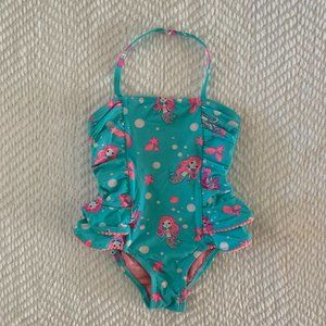 Hula Star,Sandys Crochet,Mermaid Blue,4T